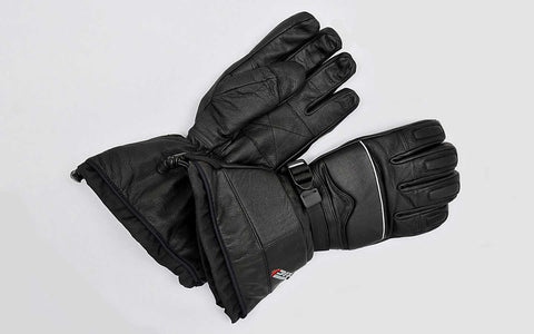 Tric Men's Leather Gauntlet Mitts/Gloves - Motor Sports World - 1