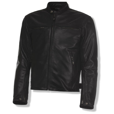 Bishop leather black