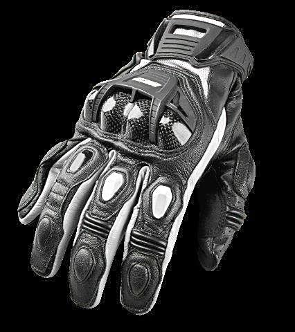 Joe Rocket Blaster Glove - Motor Sports World - 2 Black/White