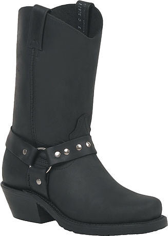 Ladies Black Loggertan Leather Boots - Motor Sports World