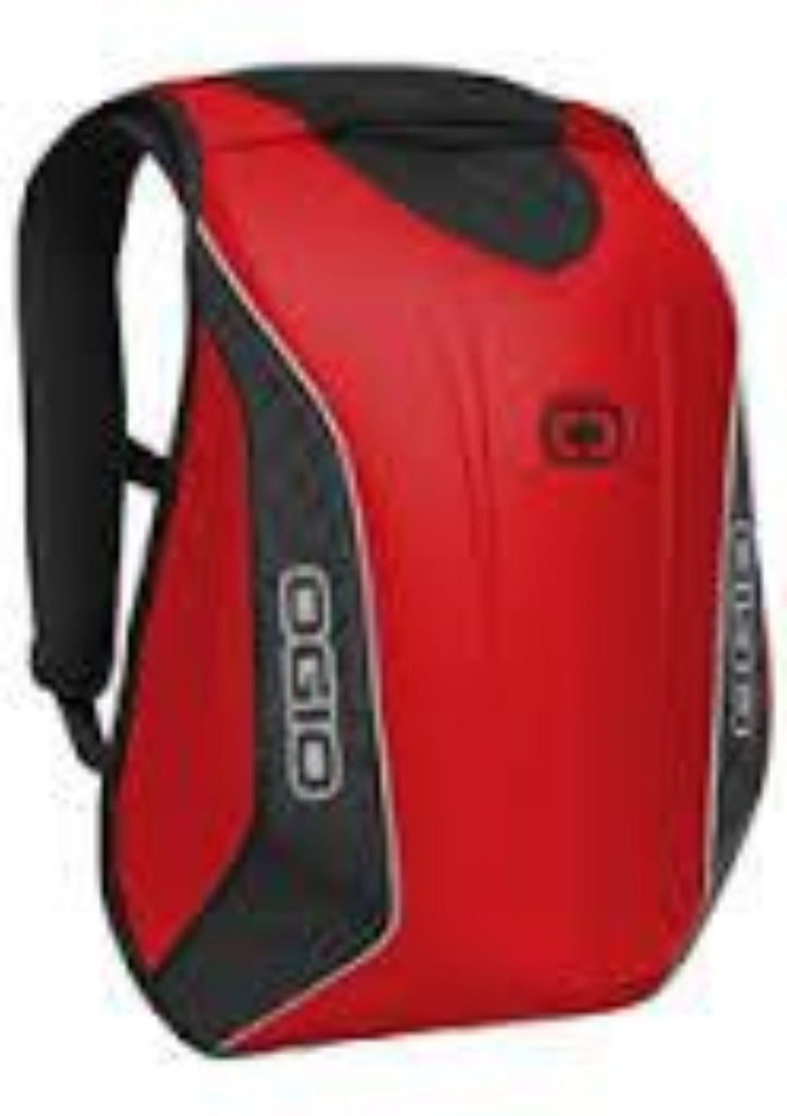 Ogio No Drag Mach 5 Red Backpack