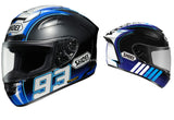 Shoei X-Twelve Montmelo Marquez - Motor Sports World - 2