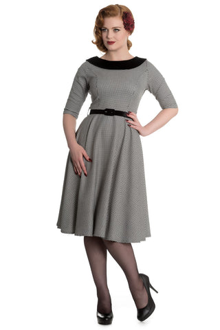 Dogstooth Jackson HB dress
