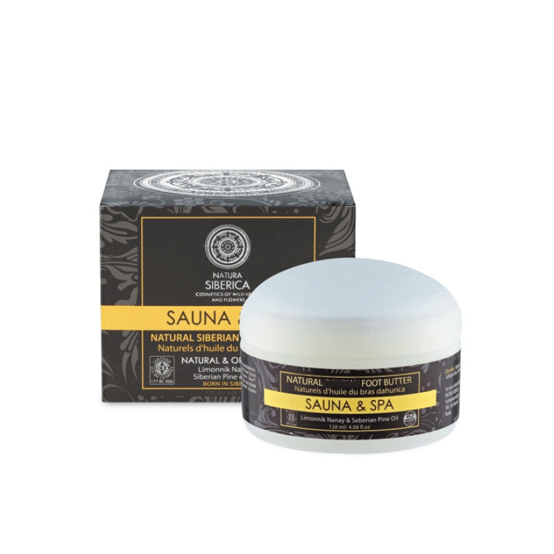 Manteca Natural Siberiana Spa para Pies - Natural Siberian Foot Butter