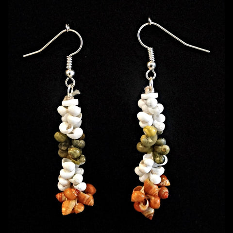 Shell Earrings - Niihau Style