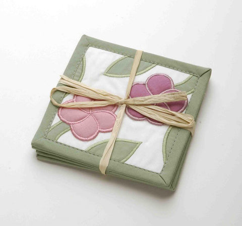 Hawaiian Quilt - Coasters (set of 4)
