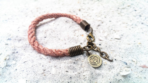 sea lion marine debis rope bracelet
