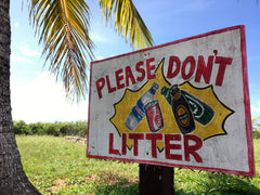 please don't litter