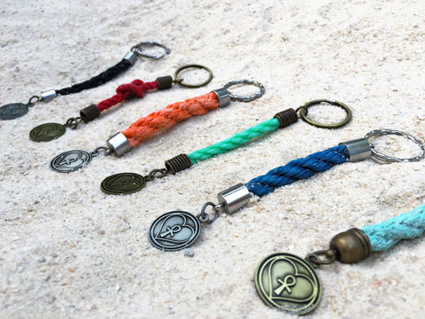 marine debris awareness keychains