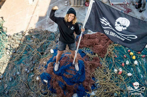 sea shepherd cleanup operation milagro