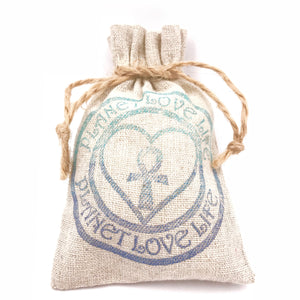 Gift Bag - Planet Love Life - Recycled Ocean Plastic Bracelet