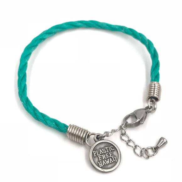 Plastic Free Hawai'i - Planet Love Life - Recycled Ocean Plastic Bracelet