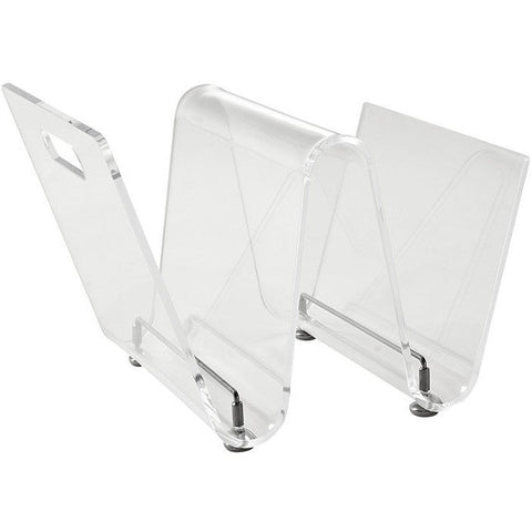Modway Furniture Clear Current Magazine Holder EEI-1020-CLR