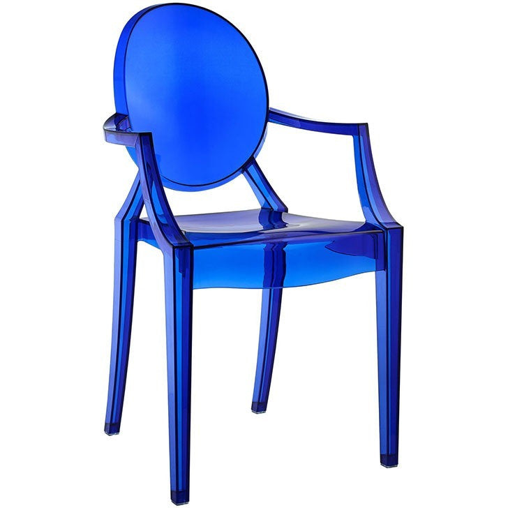 Modway Furniture Casper Dining Armchair EEI-121 Blue