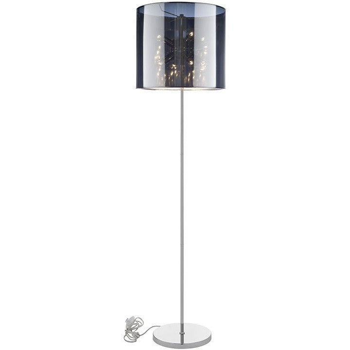 Modway Furniture Arena Floor Lamp Silver EEI-1220-SLV