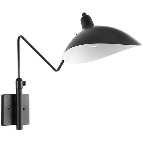 Modway Furniture View Wall Lamp Black EEI-1589