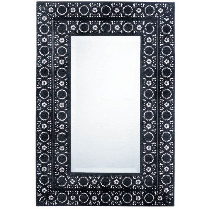 Moroccan Style Rectangular Wall Mirror 10017080 , Home & Garden > Decor > Mirrors - Koehler, Ruby Skies At Night