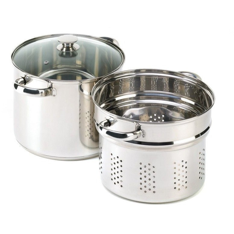 Koehler 3 Piece Stainless Steel Pasta Cooker Set 14737 , Home & Garden > Kitchen & Dining > Cookware & Bakeware > Cookware > Cookware Sets - Koehler, Ruby Skies At Night