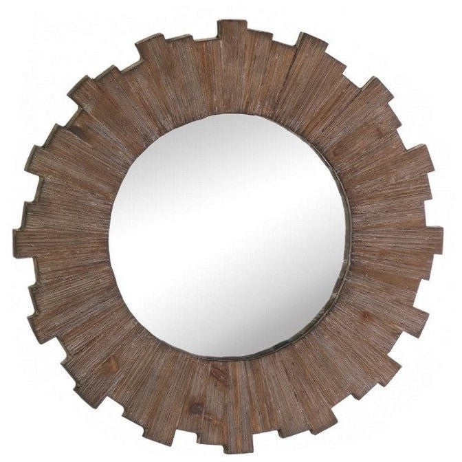 Swell Sunburst Wall Mirror with Wooden Frame 10017101 , Home & Garden > Decor > Mirrors - Koehler, Ruby Skies At Night