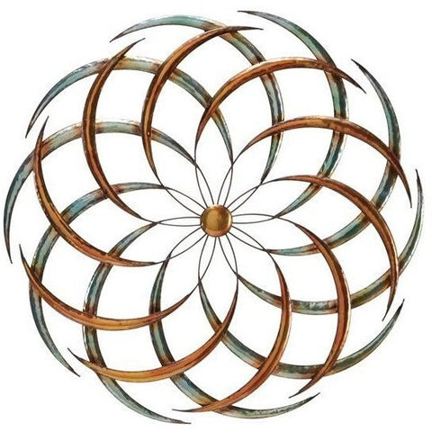 Benzara 63515 Big Bang Metal Wall Art Sculpture Decor