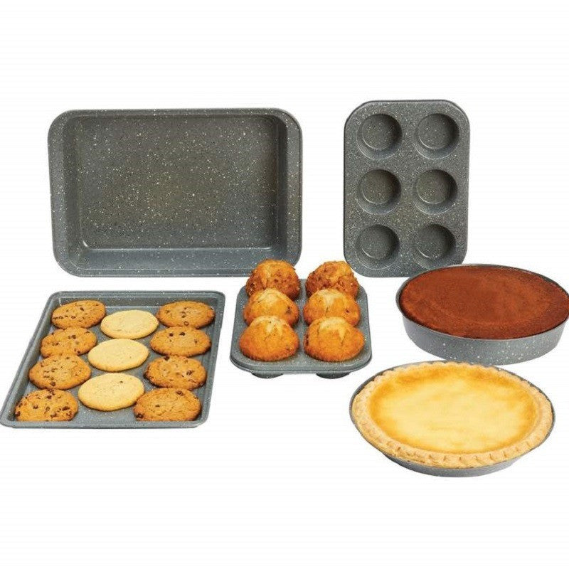 Chef's Secret® 6pc Non-Stick Carbon Steel Bakeware Set KTBAKE6