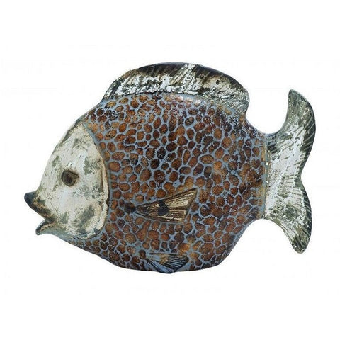 Benzara 64887 Ceramic Fish with Striking and Urban Look , Home & Garden > Decor > Figurines - Benzara Inc, Ruby Skies At Night