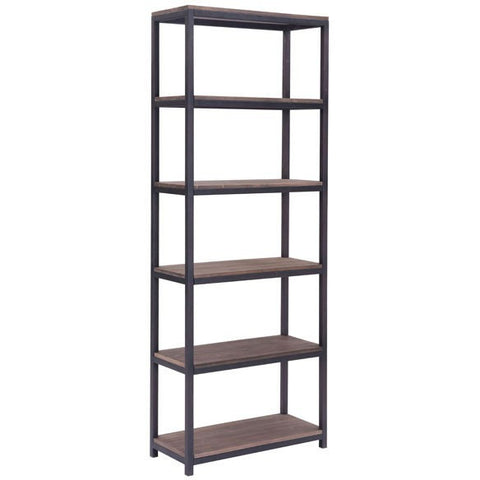 Zuo Modern 98143 Mission Bay Tall Six Level Shelf