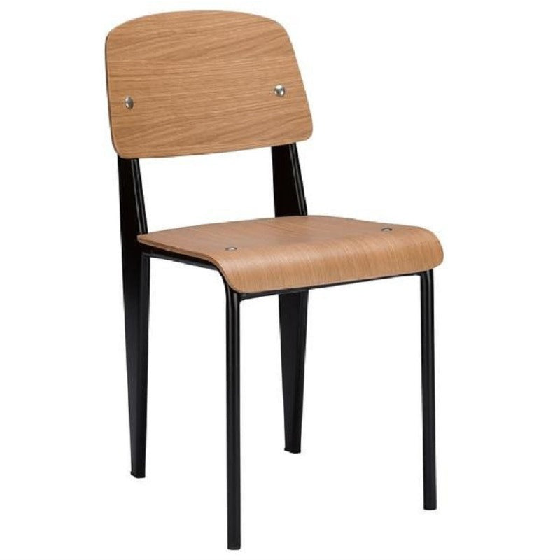 EdgeMod School Side Chair in Natural