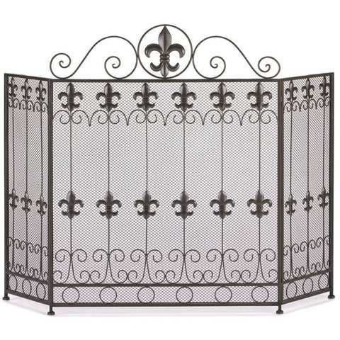 Koehler French Revival Fire Place Screen , Home & Garden > Fireplace & Wood Stove Accessories - Koehler, Ruby Skies At Night