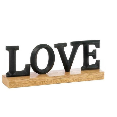 Love Block Letter Decor 10017582