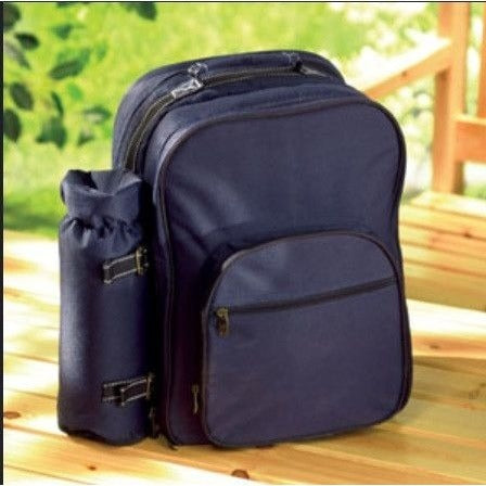 Koehler 33037 All In One Picnic Backpack for 4 , Home & Garden > Kitchen & Dining > Food & Beverage Carriers > Picnic Baskets - Koehler, Ruby Skies At Night - 1