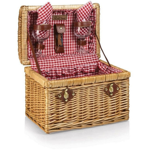 Picnic Time Chardonnay Wine Basket 215-32-300 , Home & Garden > Kitchen & Dining > Food & Beverage Carriers > Picnic Baskets - Picnic Time, Ruby Skies At Night - 1