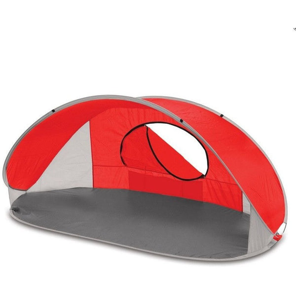 Picnic Time 113-00 Portable Manta Sun Shelter Assorted Colors , Home & Garden > Lawn & Garden > Outdoor Living > Outdoor Umbrellas & Sunshades - Picnic Time, Ruby Skies At Night - 2