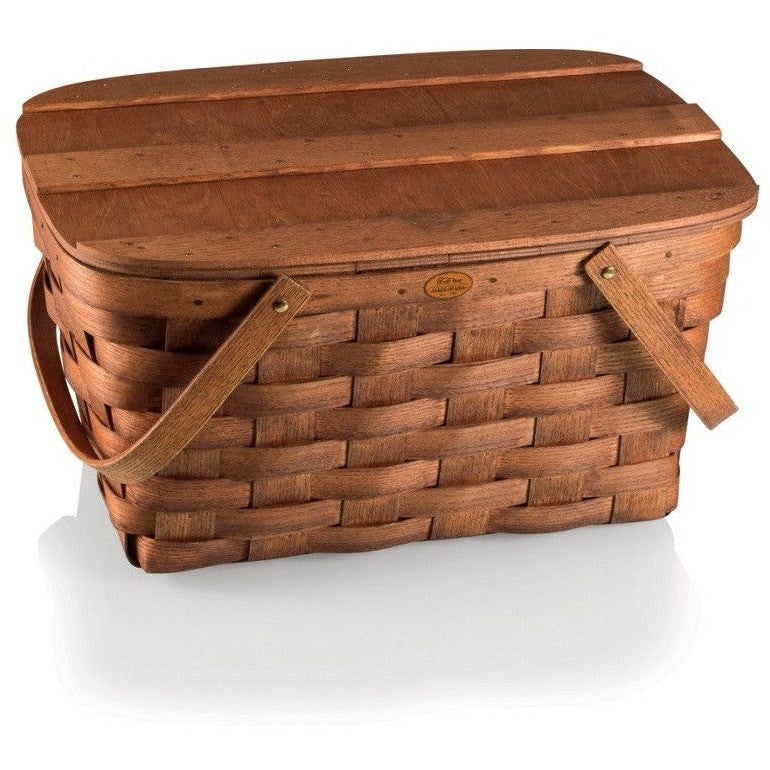 Picnic Time Prairie Woven Picnic Basket 349-00-505 , Home & Garden > Kitchen & Dining > Food & Beverage Carriers > Picnic Baskets - Picnic Time, Ruby Skies At Night - 1