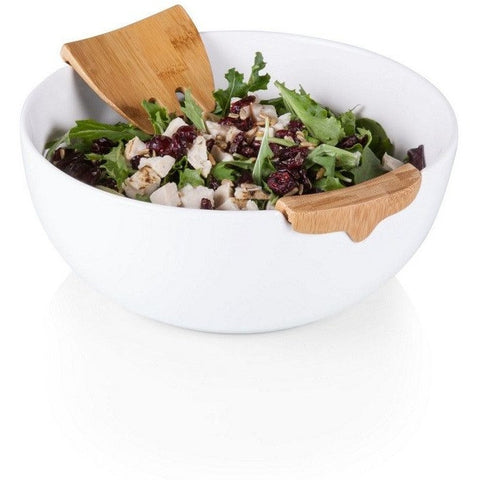 Picnic Time 952-03-505 Romano Salad Bowl and Servers Set , Home & Garden > Kitchen & Dining > Tableware > Serveware > Serving Trays - Picnic Time, Ruby Skies At Night - 1