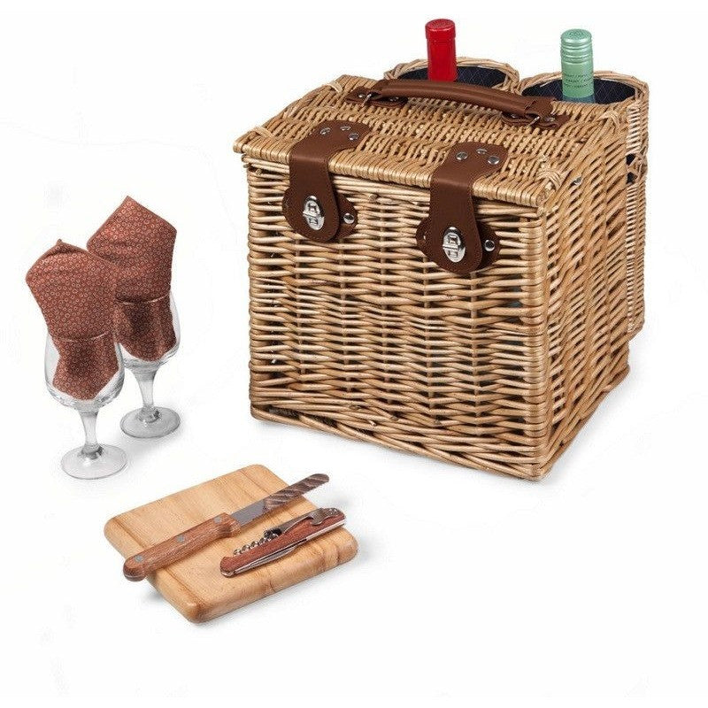 Picnic Time Vino Wine Basket 122-15-32 Adeline Collection