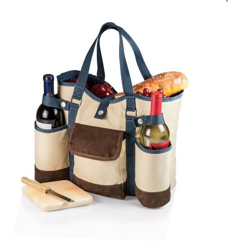 Picnic Time 617-00-112 Wine Country Tote Tan , Home & Garden > Kitchen & Dining > Food & Beverage Carriers > Picnic Baskets - Picnic Time, Ruby Skies At Night
