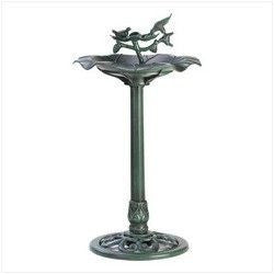 Koehler Outdoors Verdigris Birdbath 39617 , Home & Garden > Decor > Bird Baths - Koehler, Ruby Skies At Night