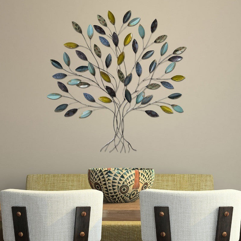 stratton home decor metal tree wall decor shd0128 - Metal Tree Wall Decor