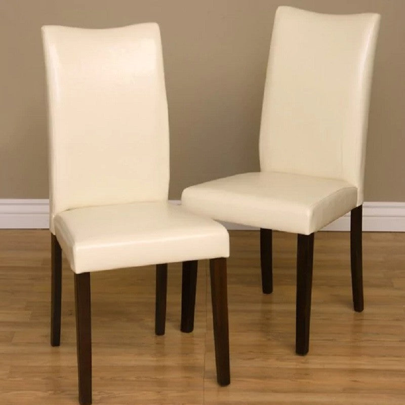 Warehouse of Tiffany 24091832CHA 2PC Shino Dining Chairs Set of 2