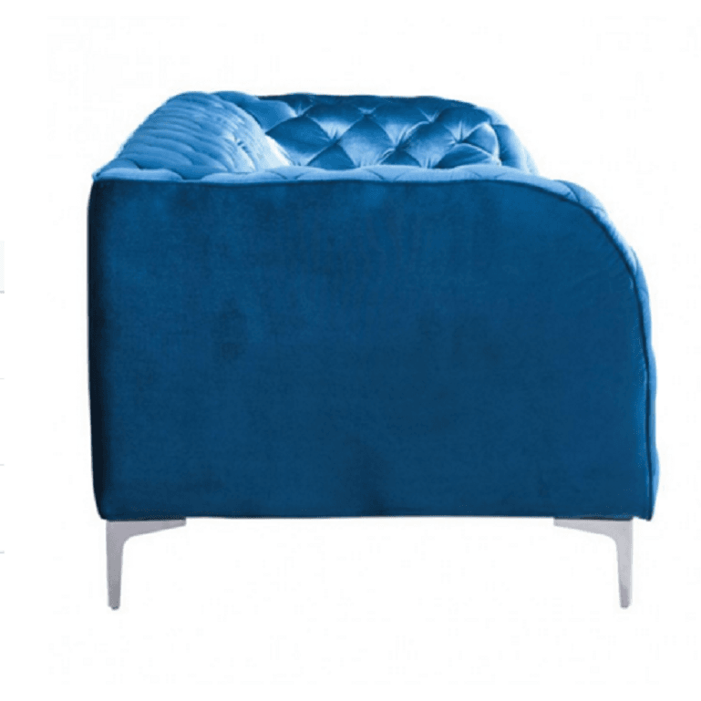 Zuo Modern 900282 Providence Blue Tufted Velvet Sofa , Furniture > Sofas - Zuo Modern, Ruby Skies At Night - 1