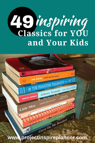 49 inspiring classics for you and your kids