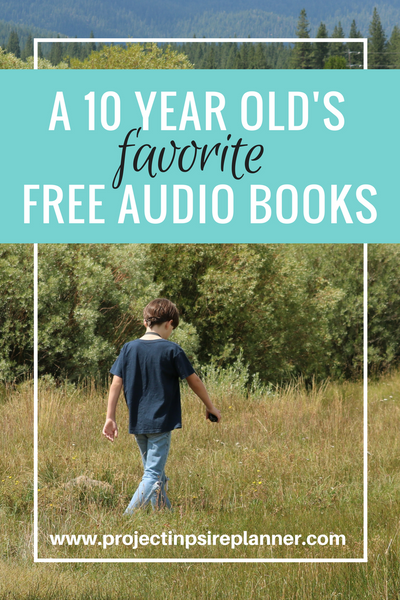 A 10-Year Old's Favorite (FREE) Audio Books – Project Inspire