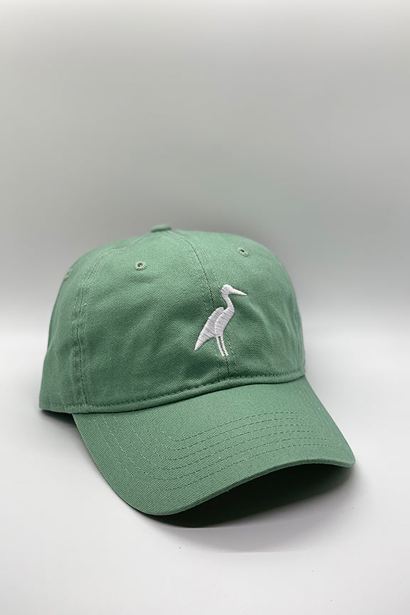 Sea Glass Green Heron Hat