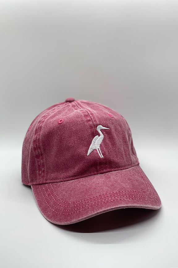 Sunset Red Heron Hat