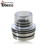 Chuff Enuff style Wide bore Top Cap/ Drip tip 22mm