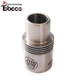 Chuff Enuff style Wide bore Top Cap/ Drip tip 22mm SS