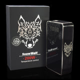 Snow Wolf Limited Edition Gun Metal 200W TC Box Mod ver 1.5