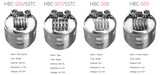 GeekVape HBC replacement coils