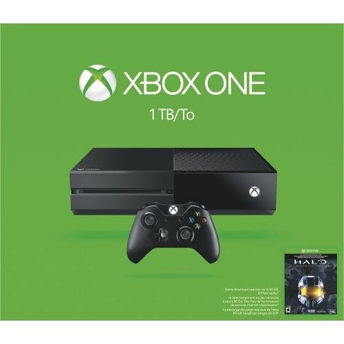 Xbox One - 1TB Bundle With Halo Master Chief Collection - Black